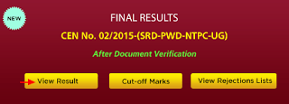 RRB Chennai Final Results